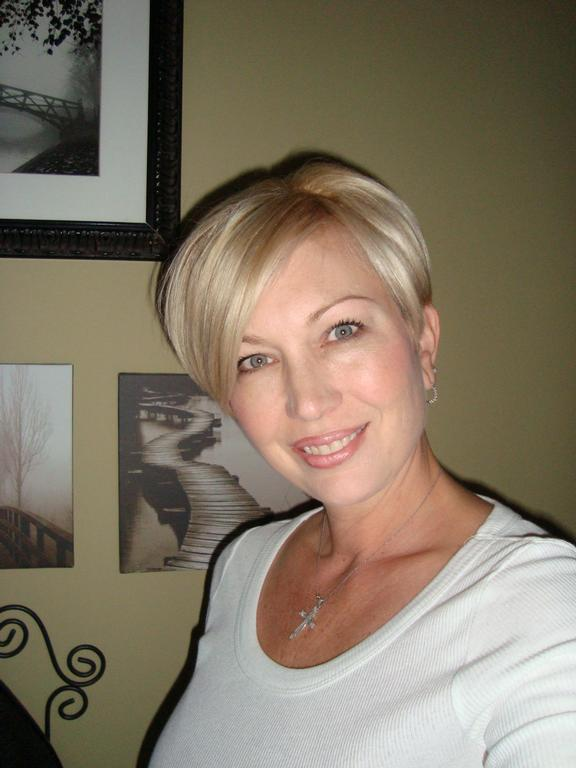 Women Getting Short Barber Haircuts