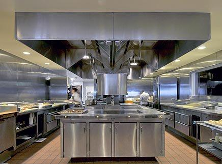 open commercial kitchen design r2l restaurant at two liberty philadelphia pa from 3717