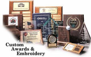 Custom Awards & Embroidery - Clive, IA