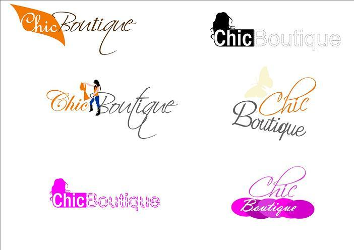 Chic Boutique Logos From Destinati Agency In Fort Atkinson, WI 53538 ...