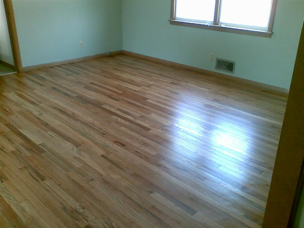 4 04 08 rustic red oak natural semi gloss floors and trim for Rustic red oak flooring