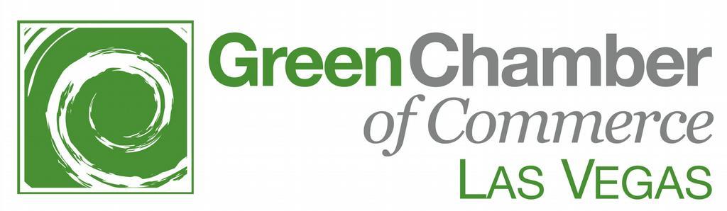 Vegas Logo Green Chamber Logo Las Vegas