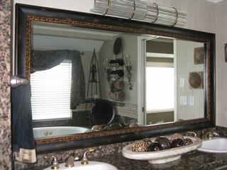 reflected design custom bathroom mirror frame kits