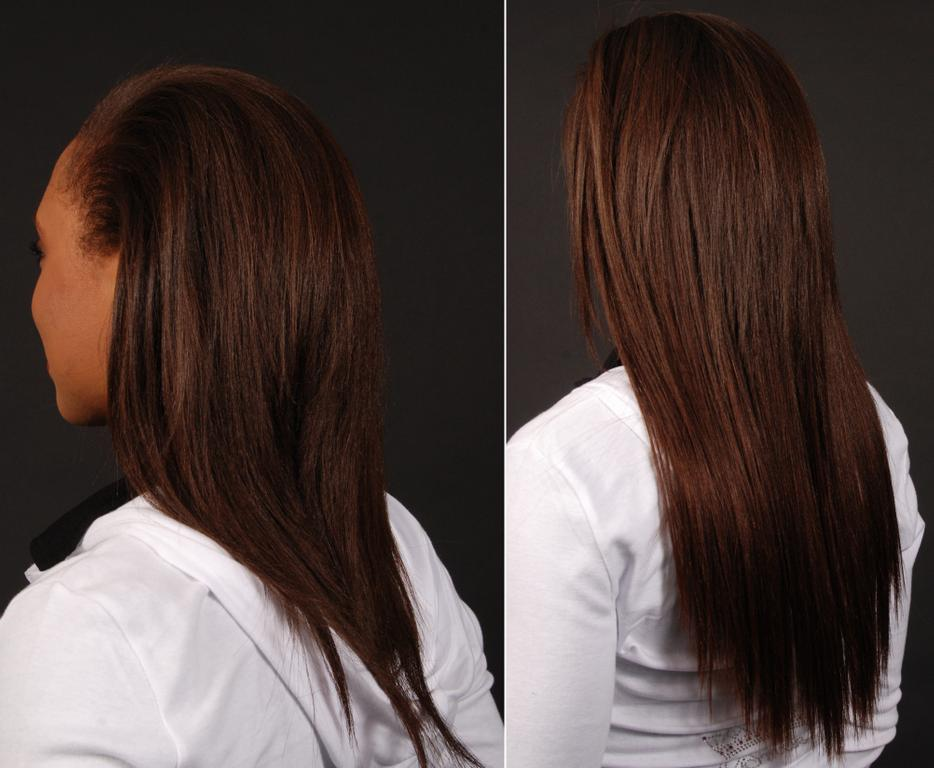 Tabitha Before After Back From Houston Affordable Hair Extensions By