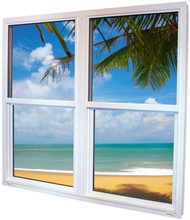 Twin with Beach Reflection View from Enerize Window u0026 Shutter Systems,LLC in Tampa, FL 33679
