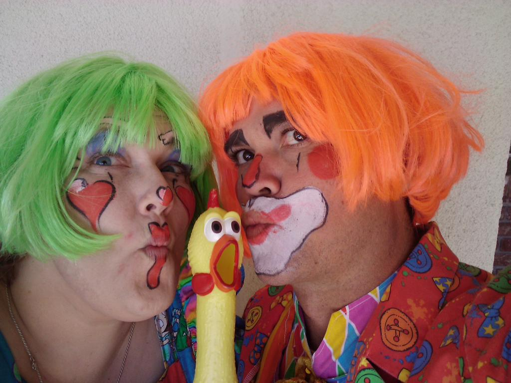 clown from Laugh Out Loud with Pooky Bear & Sissy in ...