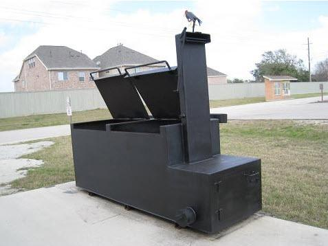 Bbq Pits Trailer Houston Tx 1 From Old Buzzard Smokers In
