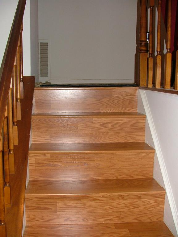 Laminate flooring video stairs