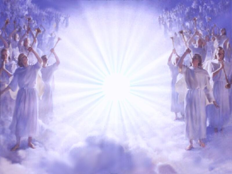 background_angels_announcing_2nd_coming by Divine Heavenly Angels: www.merchantcircle.com/business/Divine.Heavenly.Angels.727-286-7951...