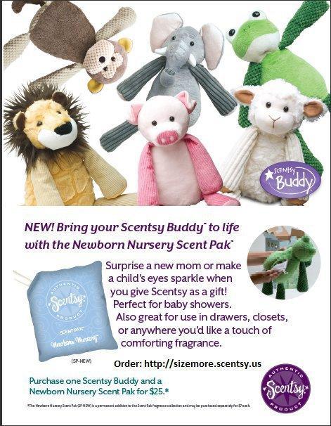Scentsy Scent Pak Newborn Nursery From Erika Harris