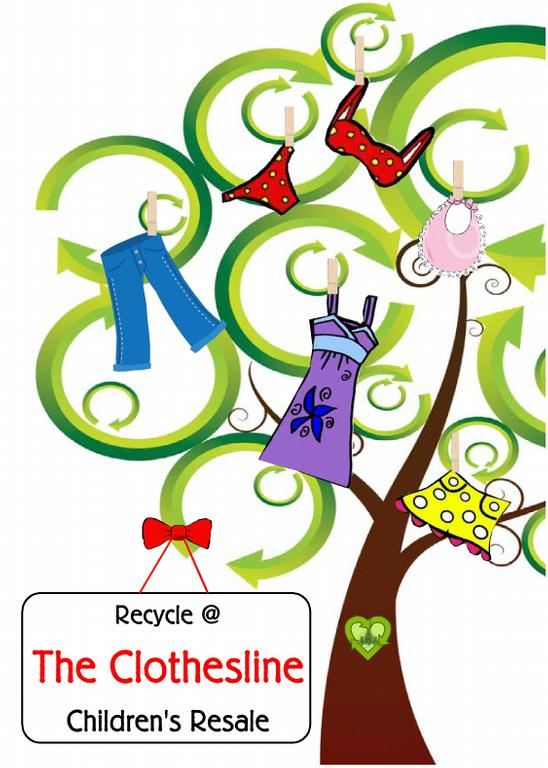 recycle tree adv from The Clothesline - Children's Resale ...