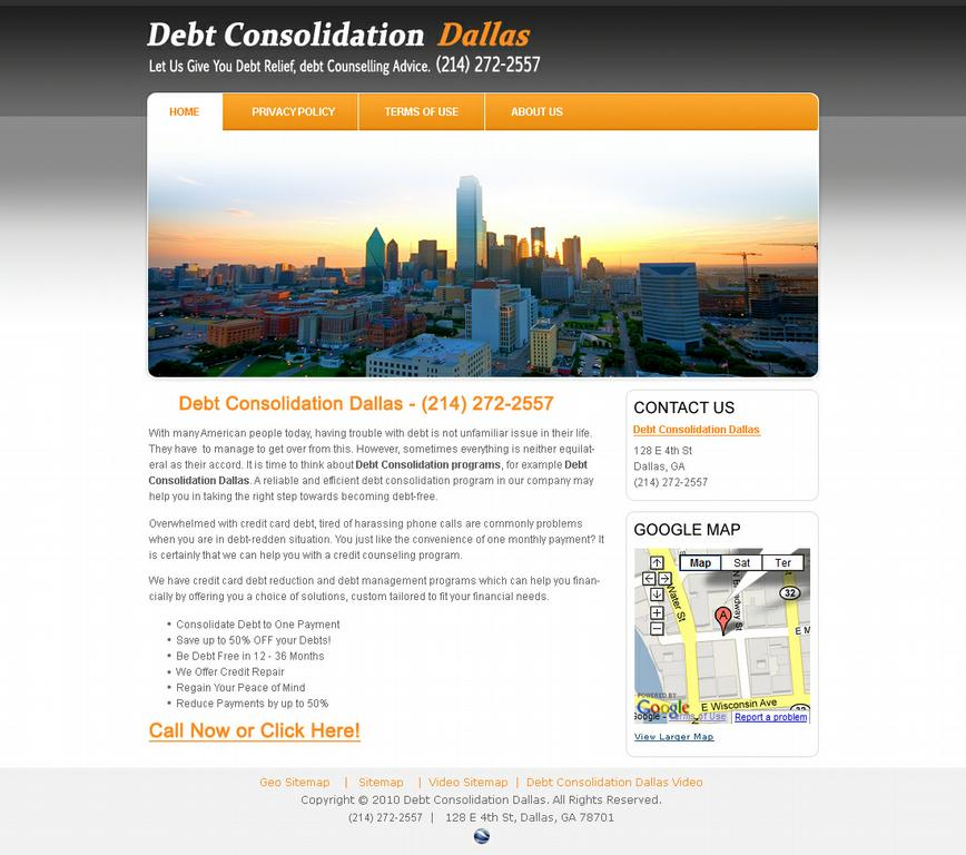 Debt Consolidation Dallas