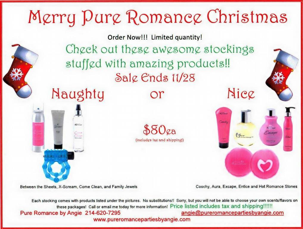 Pure romance coupon code