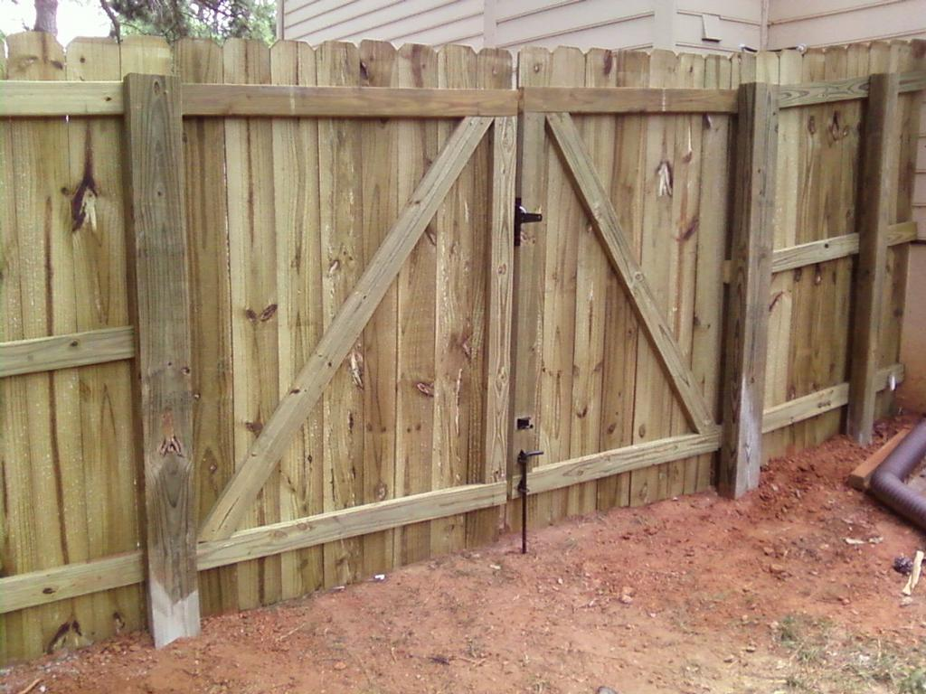 Types of Chain Link Fence Gates | eHow.com
