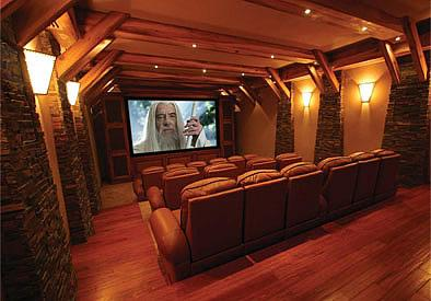 Home Theater Design on Picture  Custom Home Theater Design Provided By The Av Guy Spanish