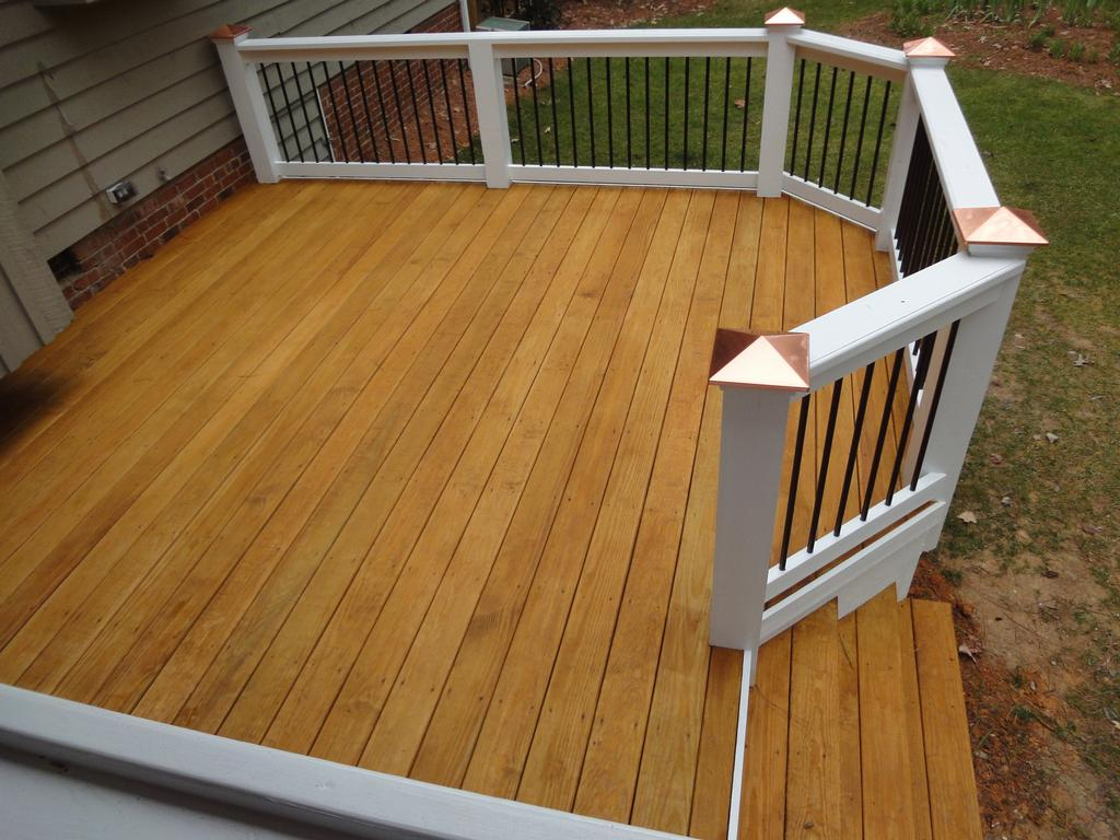Wilmington custom deck by wilmington deck and screen porch builder