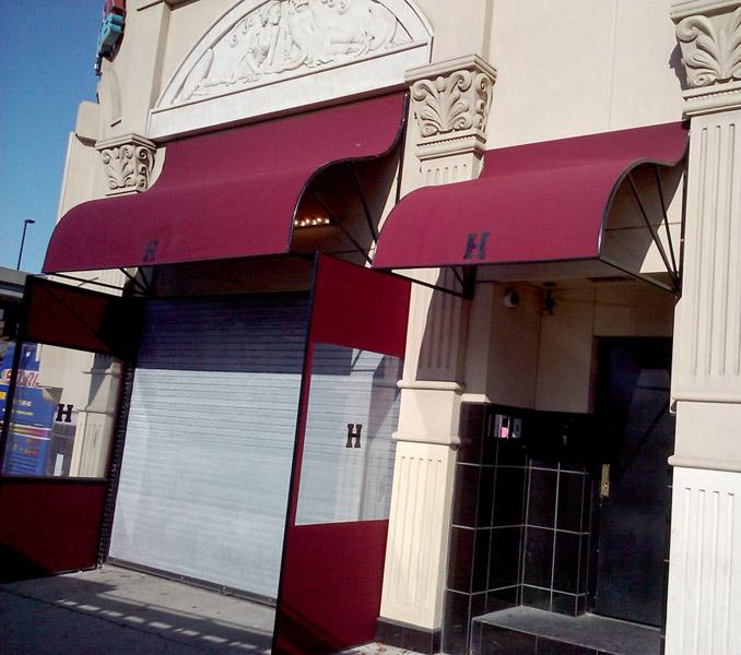 Storefront-awnings From Sunny Sign & Awning Company In
