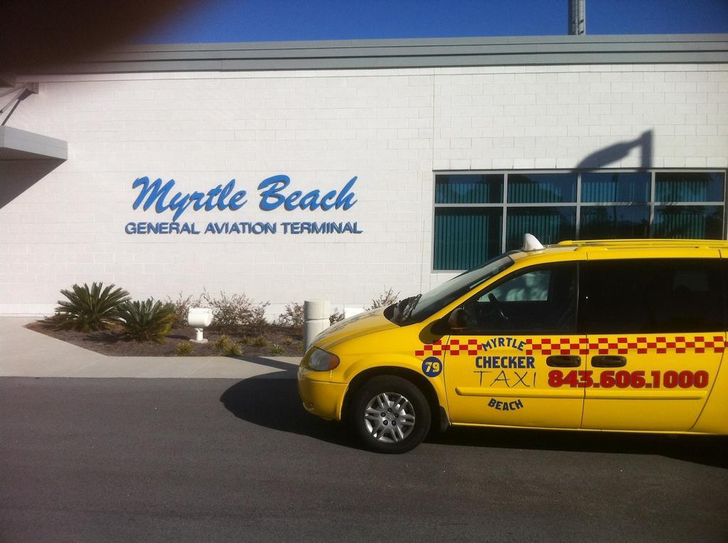 Yellow Checker Cab Myrtle Beach