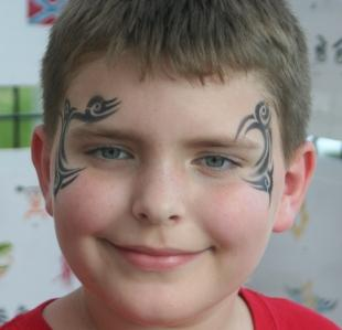 736bcf09c face painting mike tyson look from Tattitudes Body Art, LLC in ...