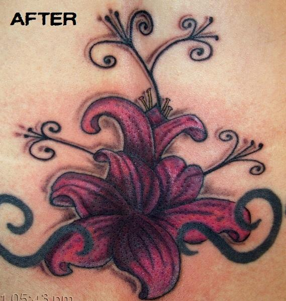 Lower Back Tattoo Cover UPS