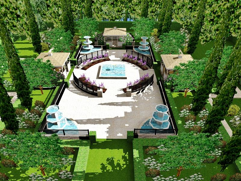 Top View Colonial Garden 3 From Everything Beautiful Home