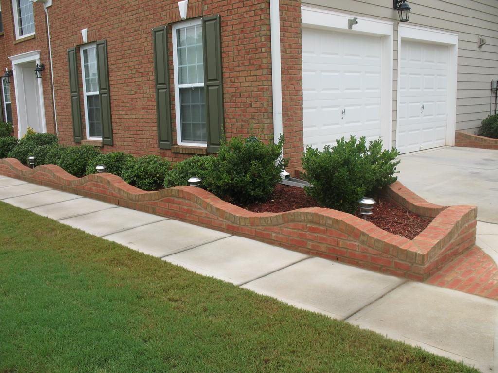 Flower beds designs brick pdf for Flower bed design ideas