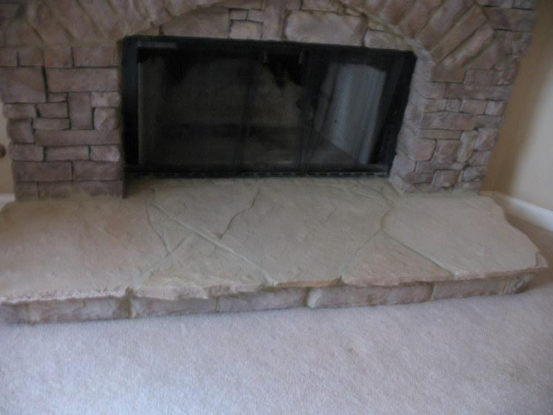 indoor stack stone fireplace from jackpot construction in