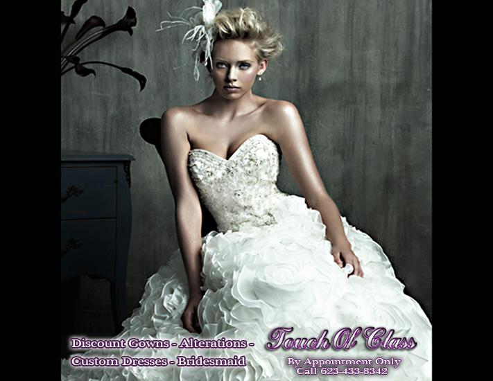 Pictures For Touch Of Class Bridal Alterations Wedding Dresses