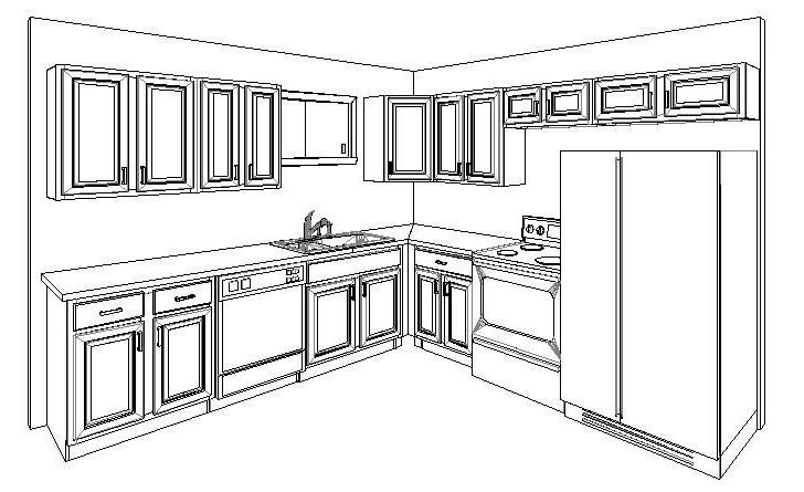 Pictures for dl cabinetry cabinets and countertop in new for Kitchen cabinets new orleans