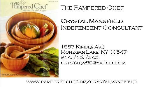 crystal business card pc-1 from Pampered Chef with Crystal ...