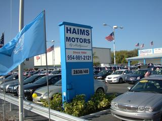 haims motors of hollywood miami fl 33179 954 981 2121