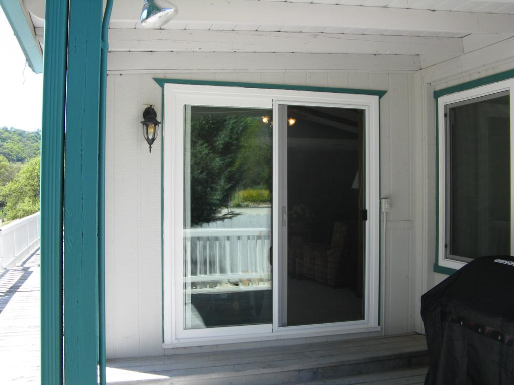 Best Window Treatments Milgard Vinyl Sliding Patio Glass Doors From Country Oaks