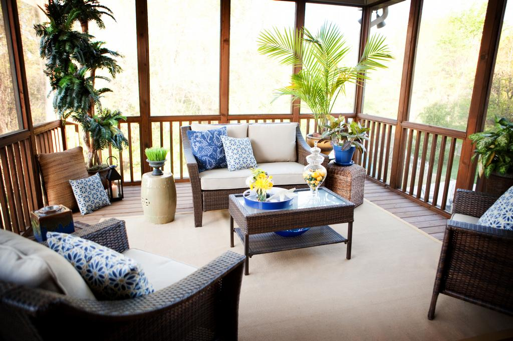 After Screened Porch From Hockman Interior Design In