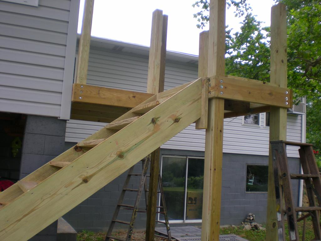Stair Construction from Zac-Of-All-Trades and Lawn Care in ...