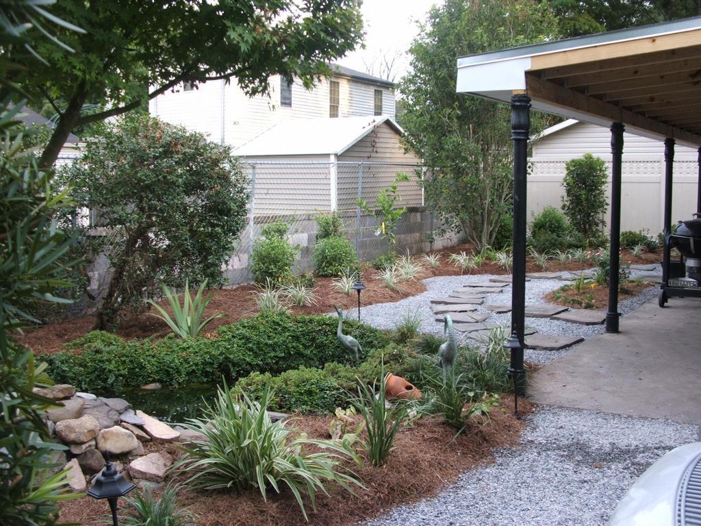 Landscape design installation new orleans from fresh cut for New landscape design