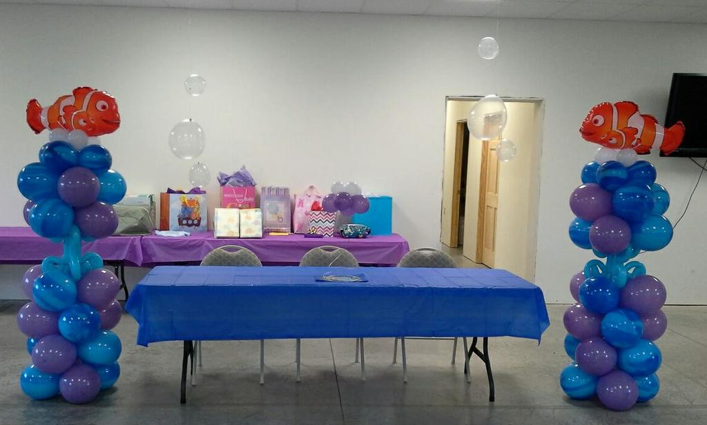 Table 23 Images Photos Hgtv Birthday Party Balloons
