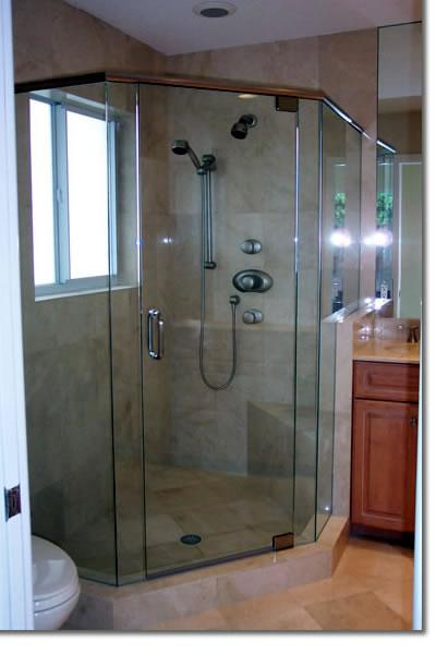 Neo Angle Shower Corner Seat Hand Held Shower From Royal Kitchen And Bath In San Jose Ca 95118