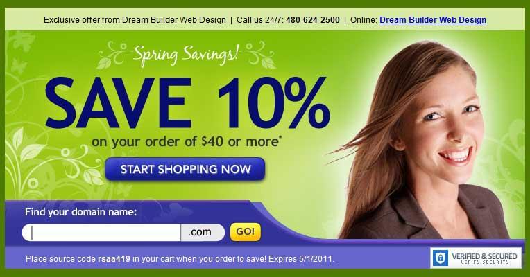 greencoupon by Dream Builder Web Design