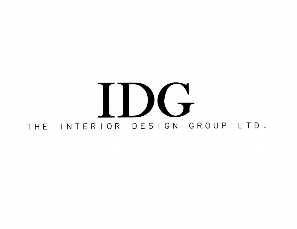 Idg logo name from the interior design group ltd in glen for Interior design names