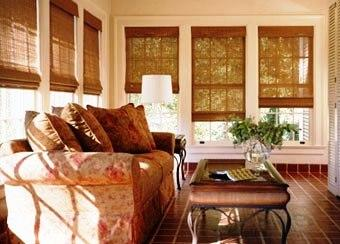 WOVEN WOOD SUNROOM from ShutterSouth Inc. in Garner, NC 27529