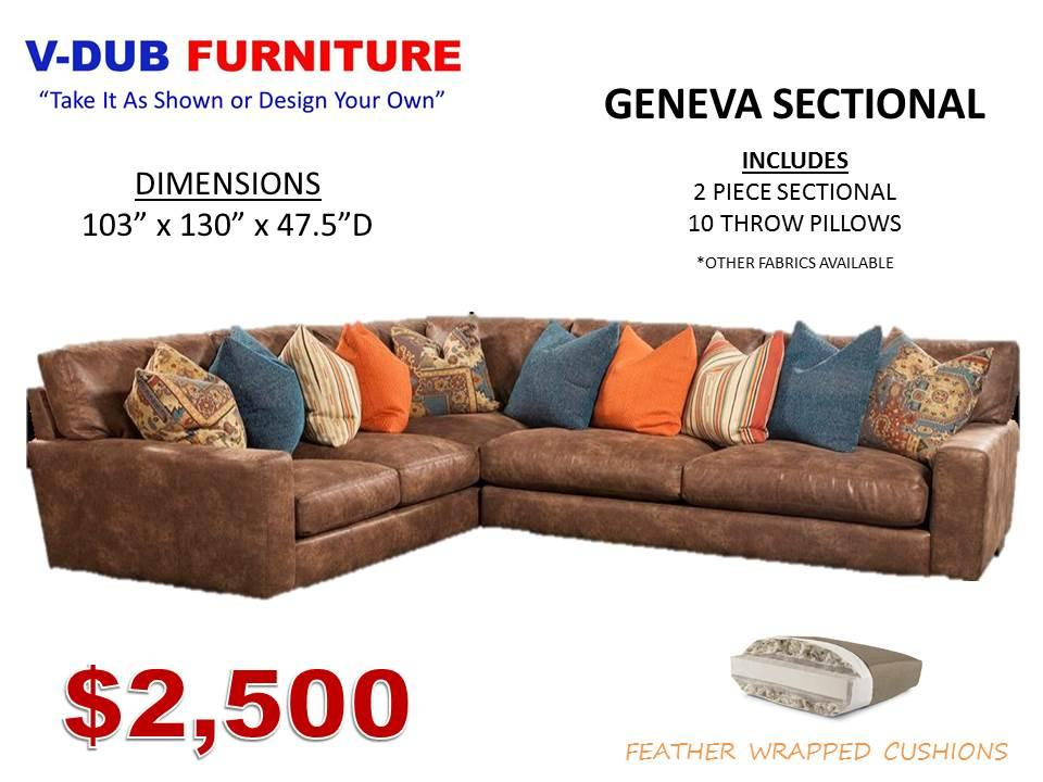 GENEVA. OCCASIONAL SETS By V Dub Furniture