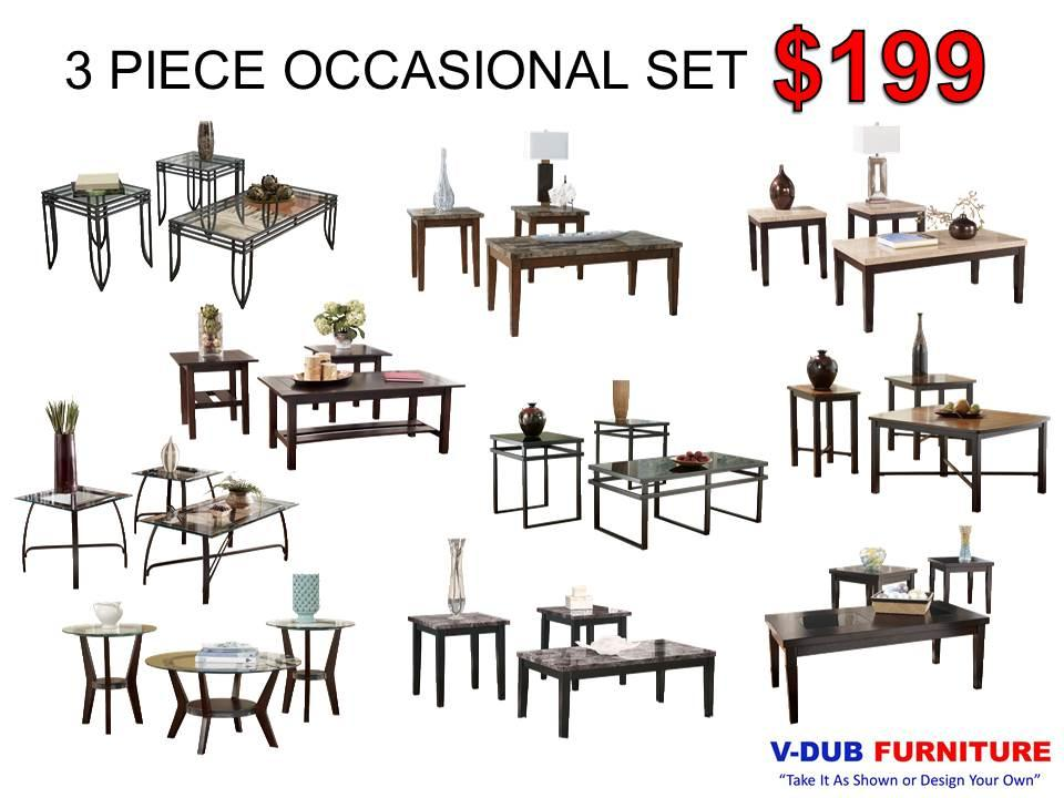 OCCASIONAL SETS By V Dub Furniture