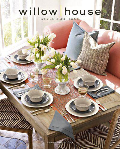 Willow house formerly southern living at home tampa fl for Home decorations catalogs