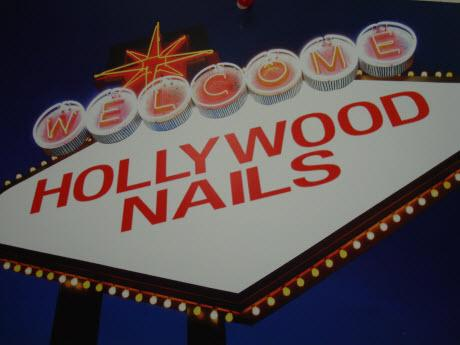 Logo By Hollywood Nails Pocket Nail Salon Sacramento Manicure Pedicure Facial Waxing Greenhaven