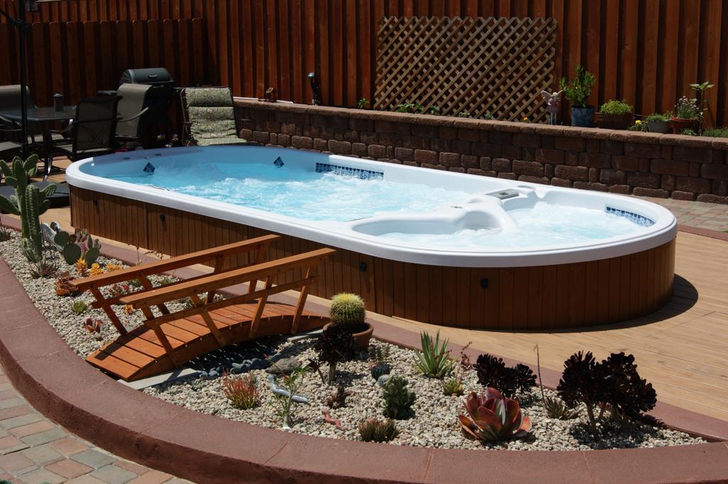pools Hot tub swim spa