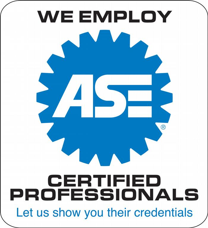 Ase We Employ Print Logo Jan2010 From Mels Garage Inc In