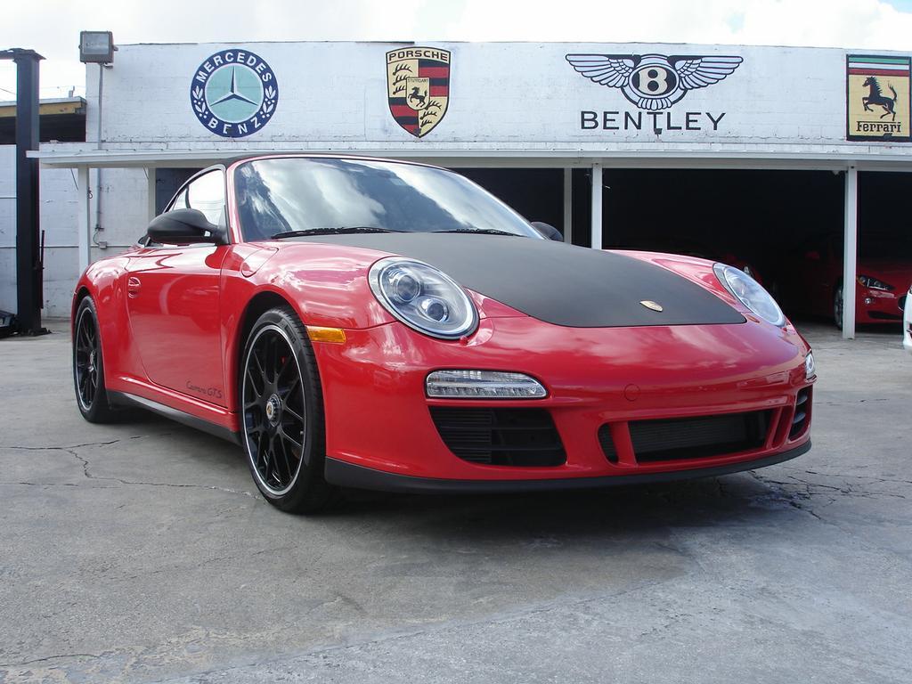 Porsche 911 Carerra Carbon Fiber Hood Wrap From Miami