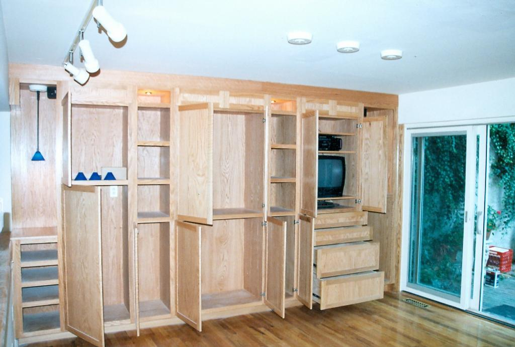Custom built in storage cabinetry from cabinet makers for Custom built cabinets
