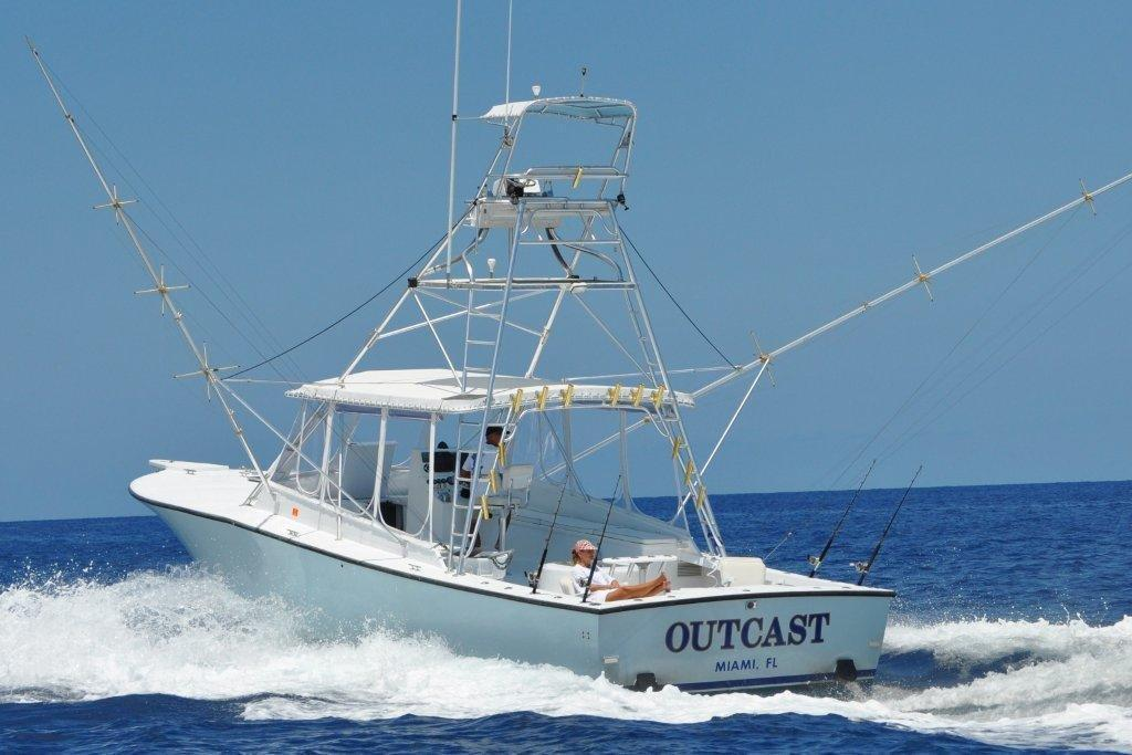 Pictures for outcast charter fishing miami deep sea sport for Sport fishing charters