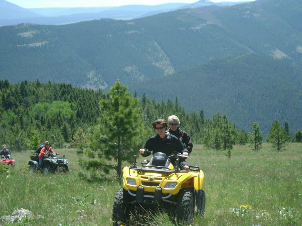 Atv Riding From Ranches At Belt Creek In Belt Mt 59412